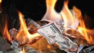 Cash to burn